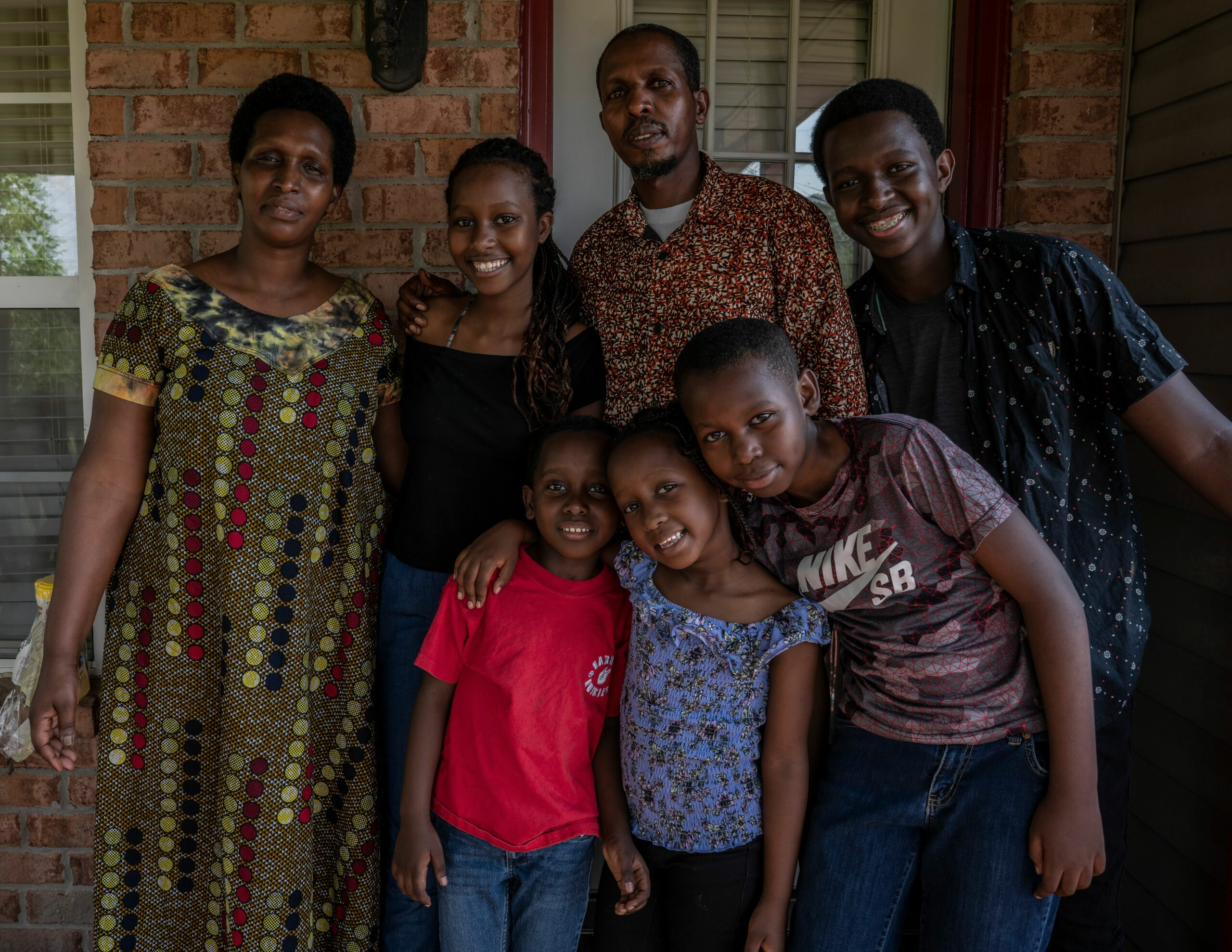 Settled into new homes, refugees in US say they are working for a better life for all