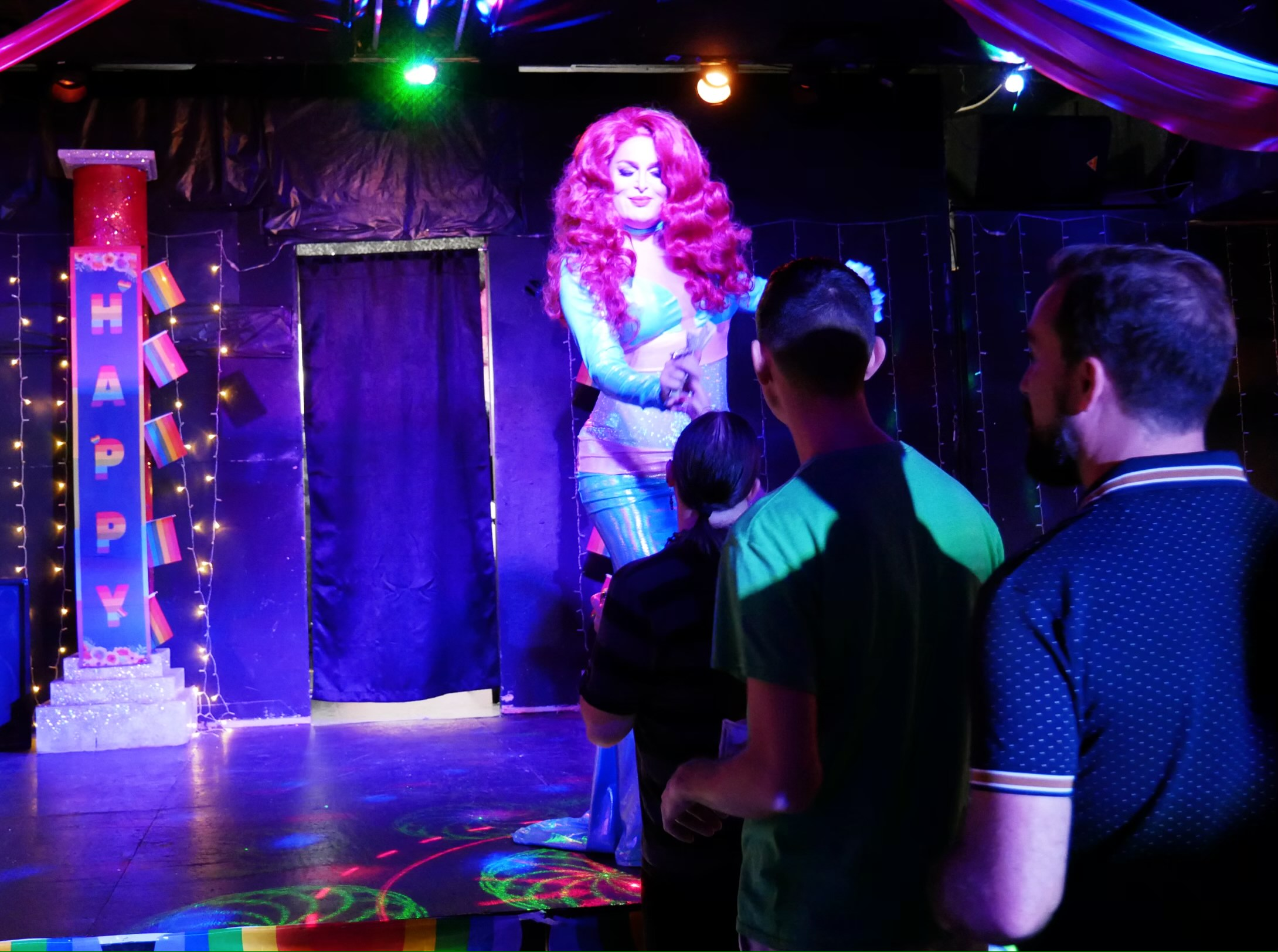 A drag queen performs at Temptations, Wendy McCown-Williams bar in Cookeville. (Photo: Submitted)