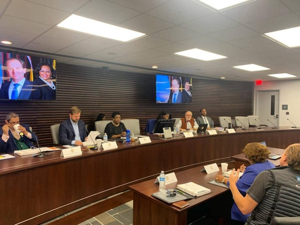A 2019 Memphis City Council meeting. (Photo: City of Memphis)