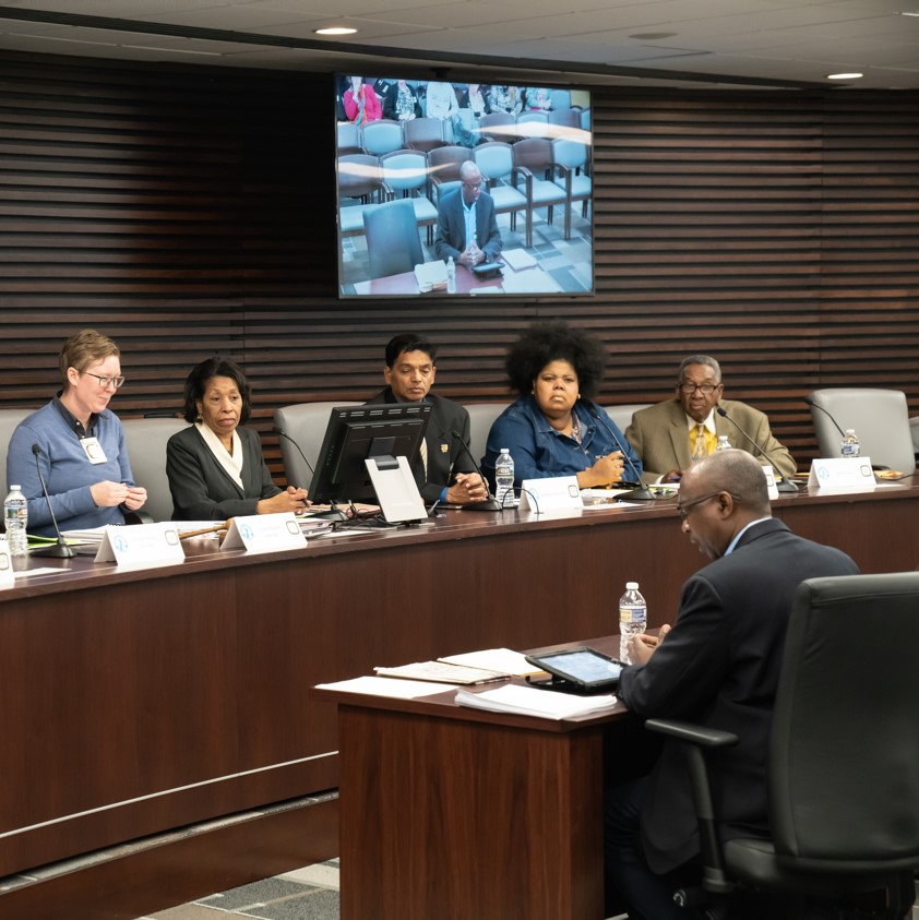 The Memphis Civilian Law Enforcement Review Board at an Aug. 2020 meeting. (Photo: Facebook)