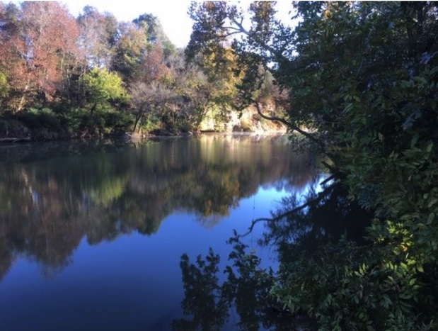 A stretch of the Duck River in Marshall County where a water treatment plant is proposed. Courtesy: Tennessee Department of Environment and Conservation