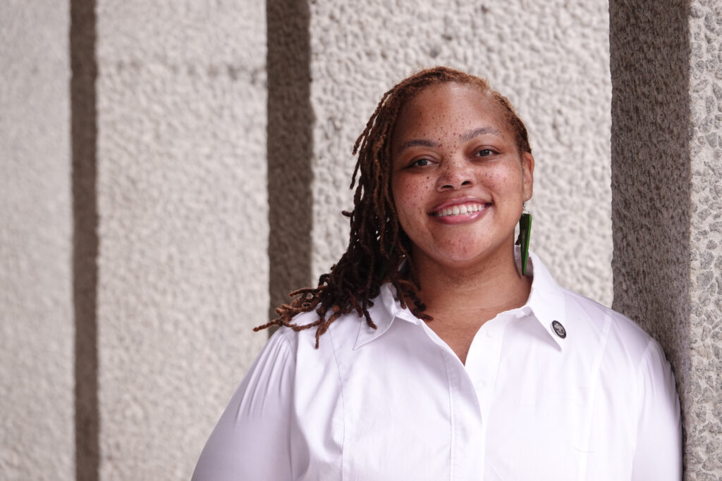 Tami Sawyer, Memphis, Tennessee. Tami Sawyer is a Shelby County Commissioner and Chair of Education in Memphis, TN. (Photo: Karen Pulfer Focht)