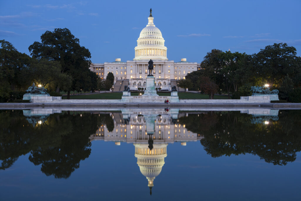 U.S. Capitol. Photo by Russ Rohde/Getty Images