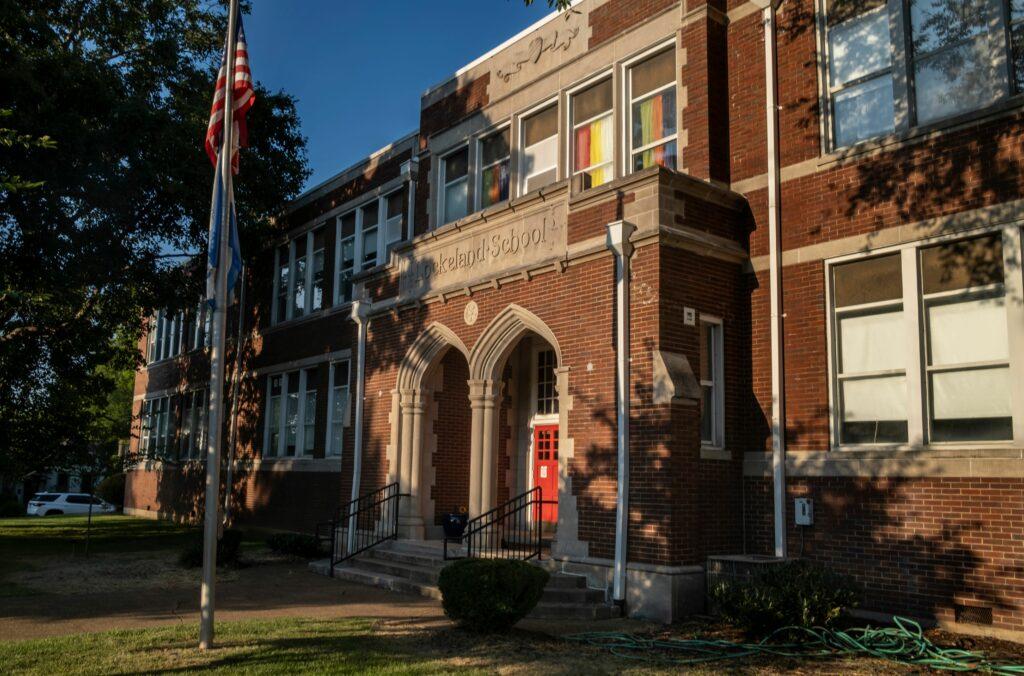 Lockeland Elementary School in Nashville. (Photo: John Partipilo)