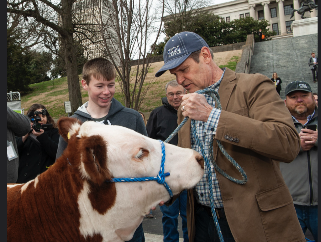 Gov. Bill Lee at Ag Day on the Hill, March 12, 2019. (Photo: Theresa Montgomery/State of Tennessee)