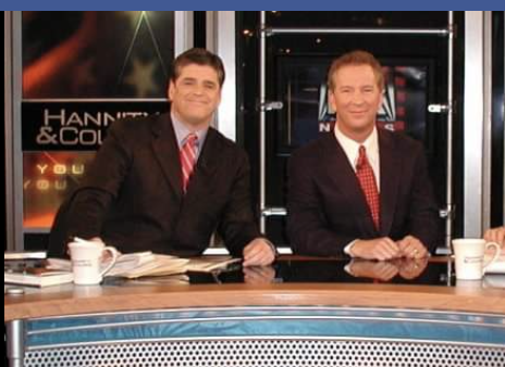 A 2012 photo of Phil Valentine, right, with Fox host Sean Hannity. (Photo: Facebook)