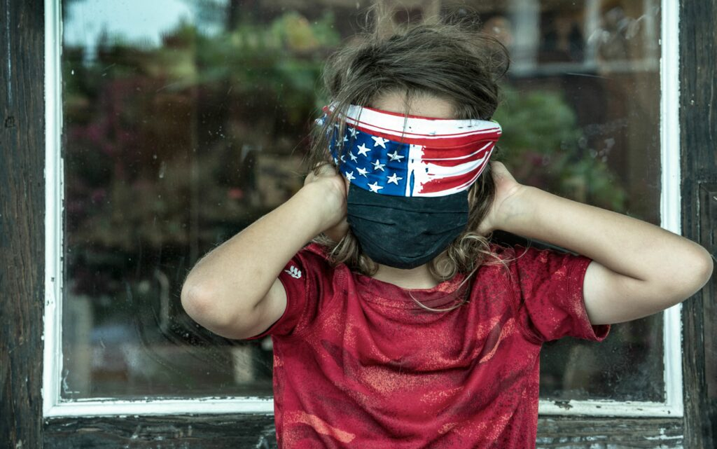 See nothing, hear nothing, say nothing: children will bear the brunt of the state's mishandling of the COVID crisis. (Photo illustration: John Partipilo)