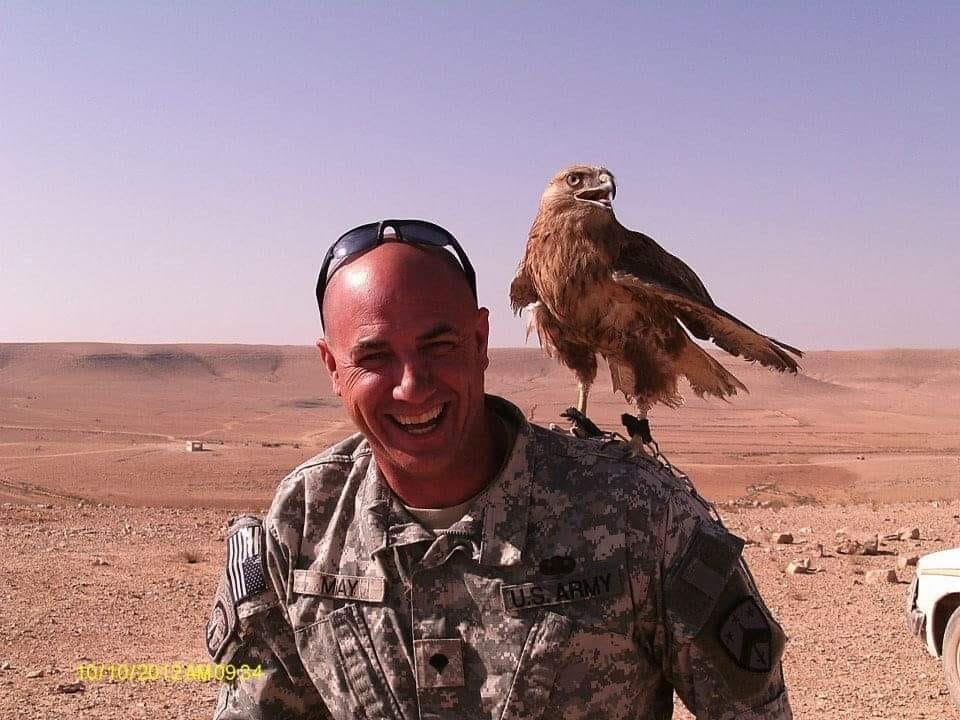 Tennessee National Guard member Bobby May, photographed who; on duty in Jordan. (Photo: Taelor May)